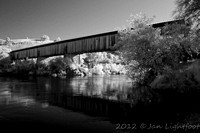 Covered Bridge at Knight's Ferry, CA